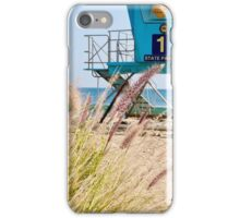 Malibu Lifeguard Tower on the beach iPhone Case/Skin
