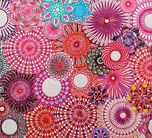Pink Spirograph Art! by RachelEDesigns