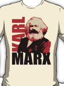Communist Karl Marx Portrait T-Shirt