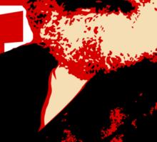 Communist Karl Marx Portrait Sticker