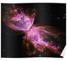 Impossible Triangle Butterfly Nebula | Fresh Universe Poster