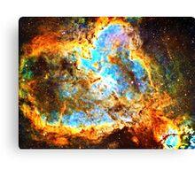 Omega [Heart And Soul Nebula]   Mathematix Canvas Print