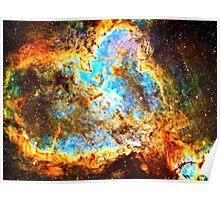 Omega [Heart And Soul Nebula] | Mathematix Poster