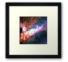 Pie Symbol 3.14 [Omega Nebula] | Mathematix Framed Print
