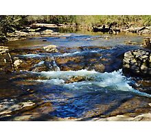 A Lazy Day at the Creek Photographic Print