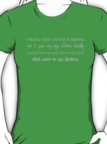 Mash Up - Game of Thrones, Harry Potter, Firefly, Lord of the Rings T-Shirt