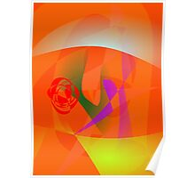 Orange Daylight Poster