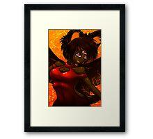 Kera Framed Print