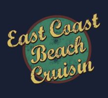 Bike Cycling East Coast Beach Cruising by SportsT-Shirts
