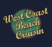 Bike Cycling West Coast Beach Cruising by SportsT-Shirts