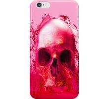 Red Skull in Water iPhone Case/Skin
