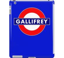 GALLIFREY METRO iPad Case/Skin