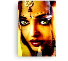 India Ink Canvas Print