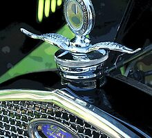 Antique Hood Ornaments #38 by SLBallew