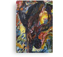 Icarus, Falling, Clutches To His Personal Organiser Canvas Print
