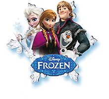 Frozen cast by Scott Green