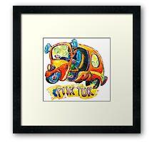 Tuk Tuk Rat Rod Framed Print