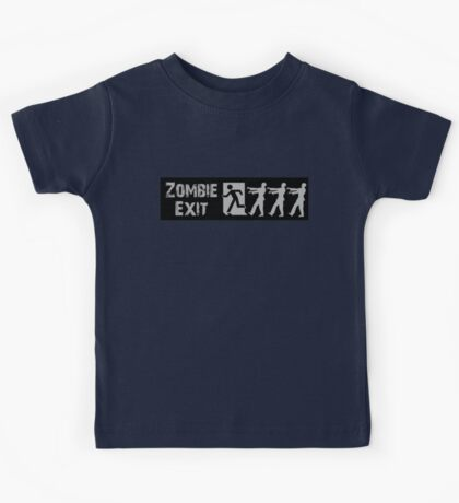 ZOMBIE EXIT SIGN by Zombie Ghetto Kids Tee