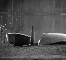 Boats waiting by macsphotography