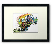 Tuk Tuk Auto Rickshaw Hot Rod Framed Print