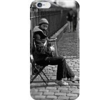 street musician iPhone Case/Skin