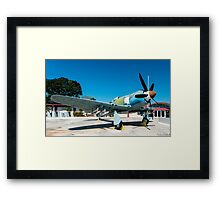 Bristol Centaurus Powered Hawker Sea Fury, Giron Cuba 2014 Framed Print