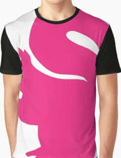 Big Pink Squirrel Graphic T-Shirt