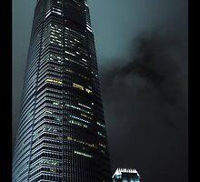 hong kong skyscraper by Steely28