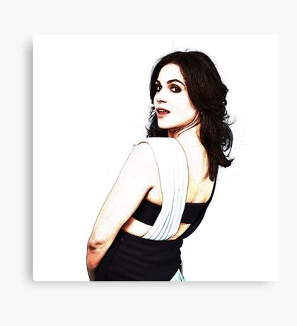 Lana Parrilla - Once Upon a Time Canvas Print