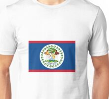 Belize Flag Unisex T-Shirt
