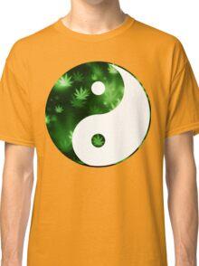 Yin Yang Weed Classic T-Shirt