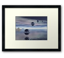 Visitors From Space Framed Print