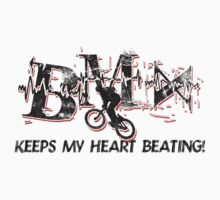 BMX Keeps My Heart Beating Kids Clothes