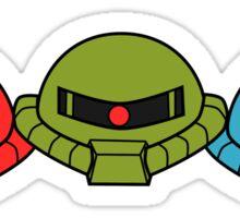 Zeon Triple Threat Sticker