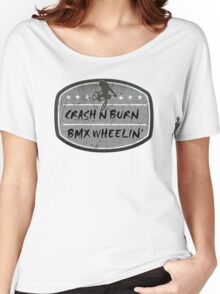 BMX Crash and Burn Women's Relaxed Fit T-Shirt