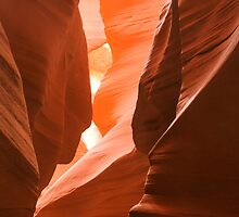 Antelope Canyons by Randy  Le'Moine