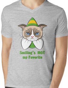 Grumpy Buddy Mens V-Neck T-Shirt