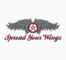 Bike Cycling Spread Your Wings Kids Clothes