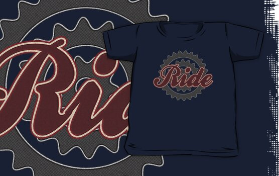 Ride Bike Cycling Bicycle  by SportsT-Shirts