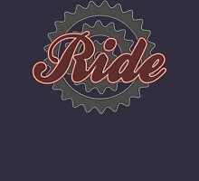 Ride Bike Cycling Bicycle  Womens Fitted T-Shirt