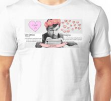 My perfect boy: Ansel Elgort Unisex T-Shirt