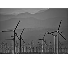 Energetic Winds Photographic Print