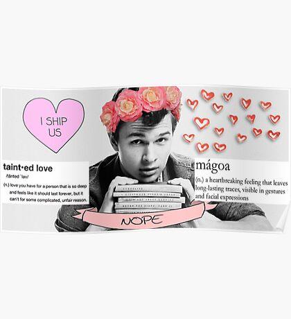 My perfect boy: Ansel Elgort Poster