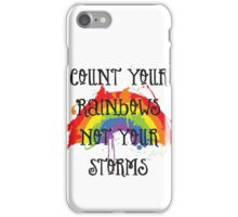 Count Your Rainbows iPhone Case/Skin