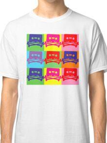 Pop Art Tape and Bones Classic T-Shirt