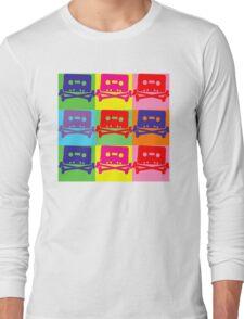 Pop Art Tape and Bones Long Sleeve T-Shirt