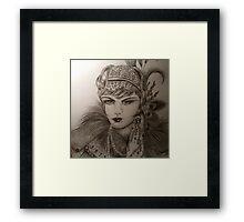 Flapper  Framed Print
