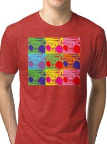 Pop Art Boombox Tri-blend T-Shirt