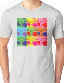 Pop Art Boombox Unisex T-Shirt