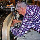 Weaver in Carloway by lezvee